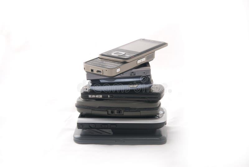 Modern electronics stock photography