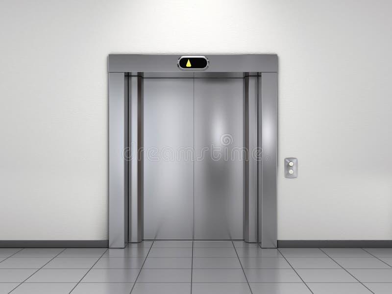 Modern elevator stock illustration