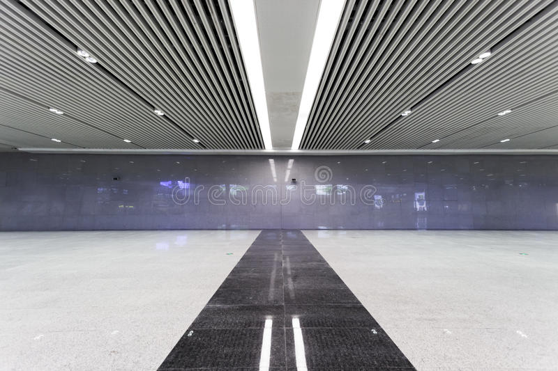 Modern empty hall inside royalty free stock images
