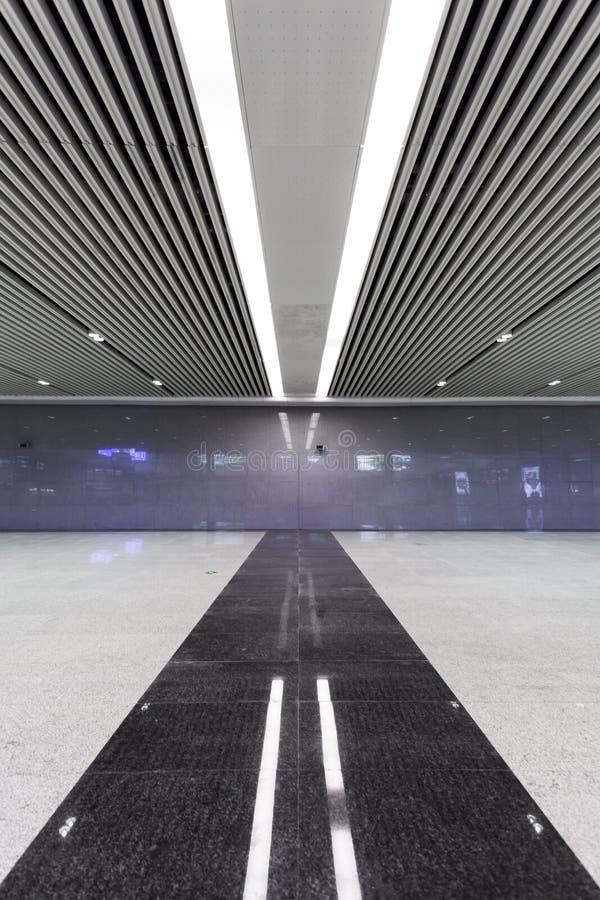 Modern empty hall inside royalty free stock photos