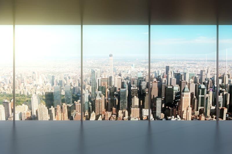 Modern empty office stock photo