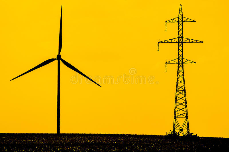Modern Energy Stock Images