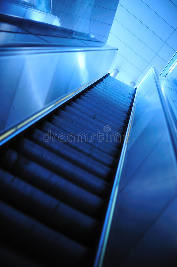 Download Modern escalator stock photo. Image of escalator, inside - 13775946