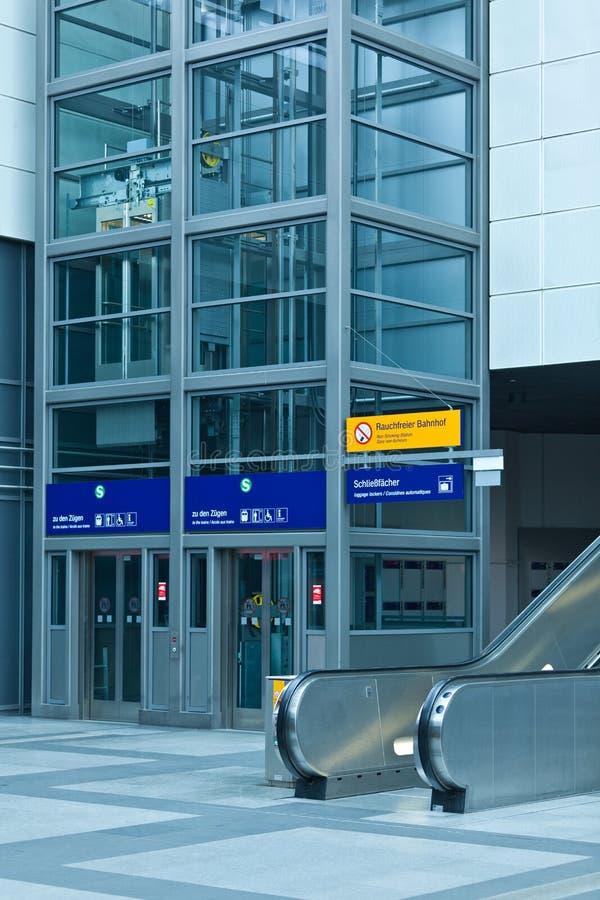 Download Modern Escalator And Elevator In Station Stock Photo - Image of homeland, design: 24728824