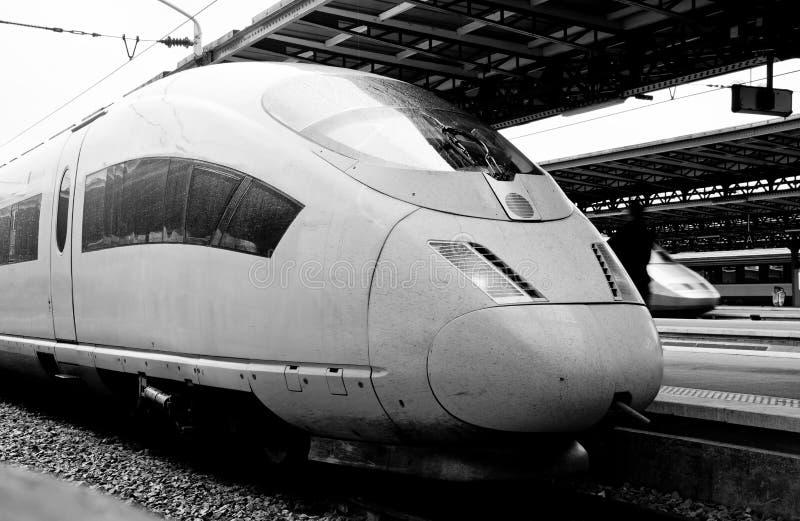 Modern Express Train Station Stock Photography