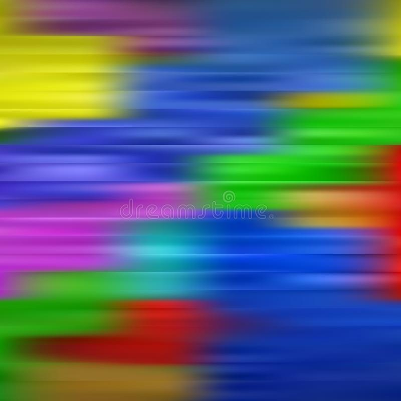 Modern f?rgrik fl?desaffisch V?gv?tskeform i bl?ttf?rgbakgrund Konstdesign f?r ditt designprojekt royaltyfri illustrationer
