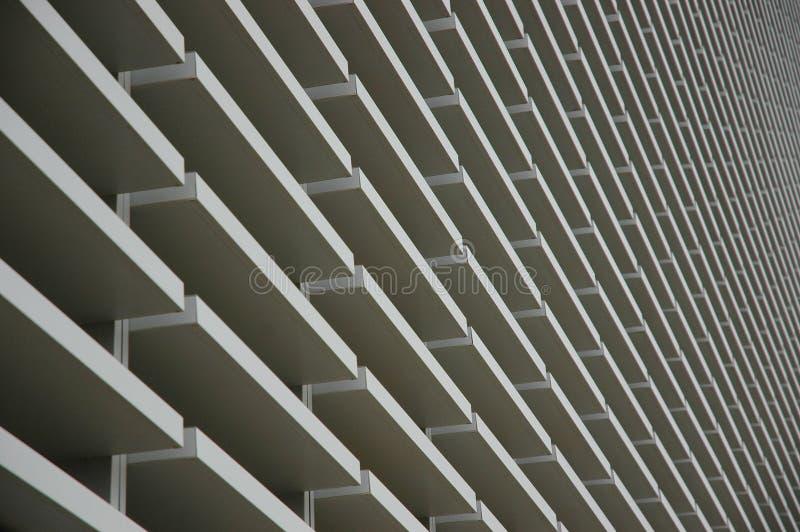 modern facade arkivfoton