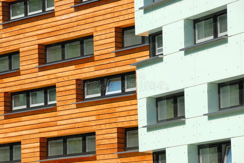 Modern facades no.2 royalty free stock images