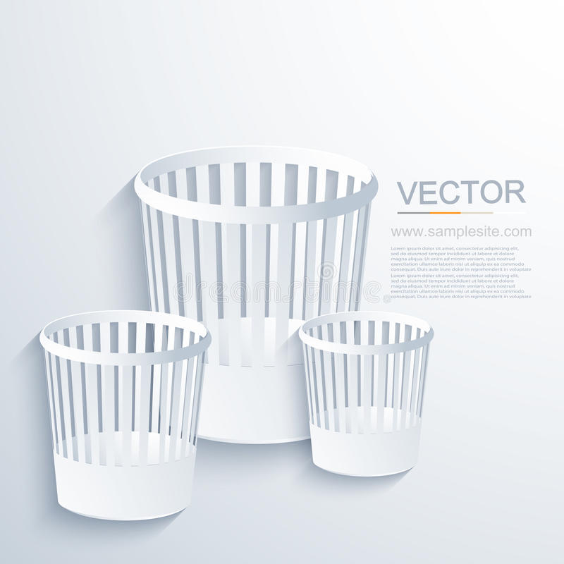 Modern fackbakgrund för vektor stock illustrationer