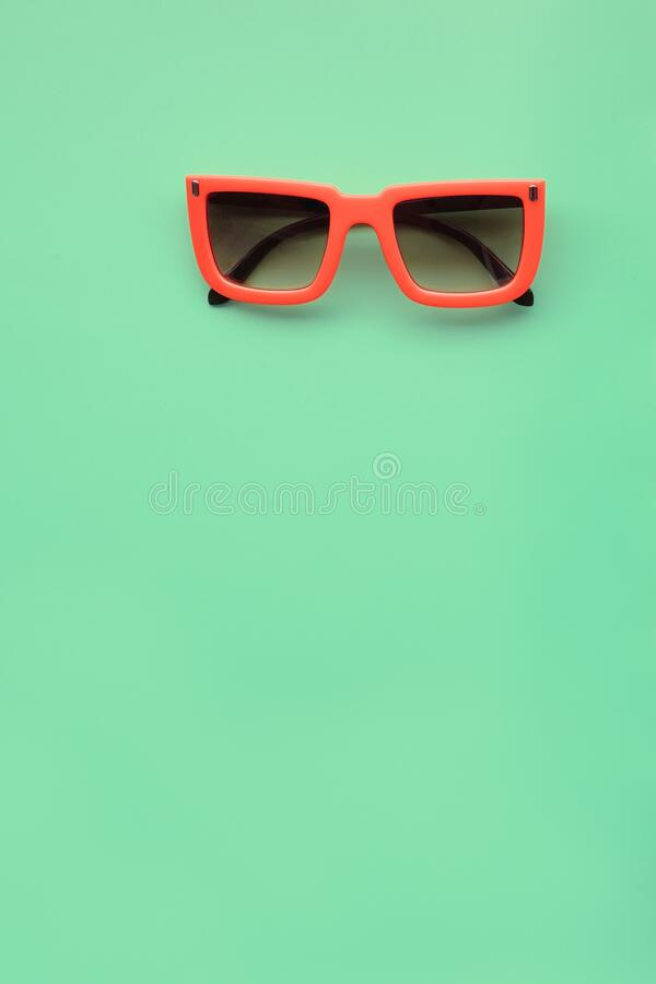 Modern fashionable sunglasses royalty free stock images