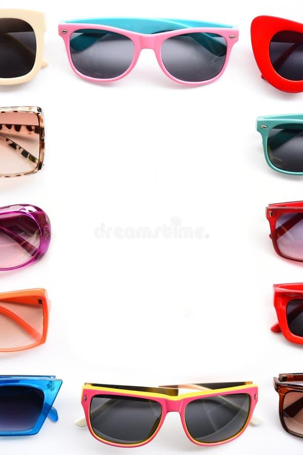Modern fashionable sunglasses royalty free stock photos
