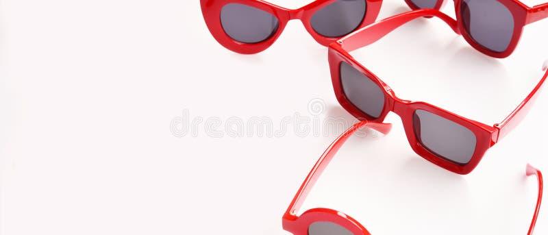 Modern fashionable sunglasses stock image