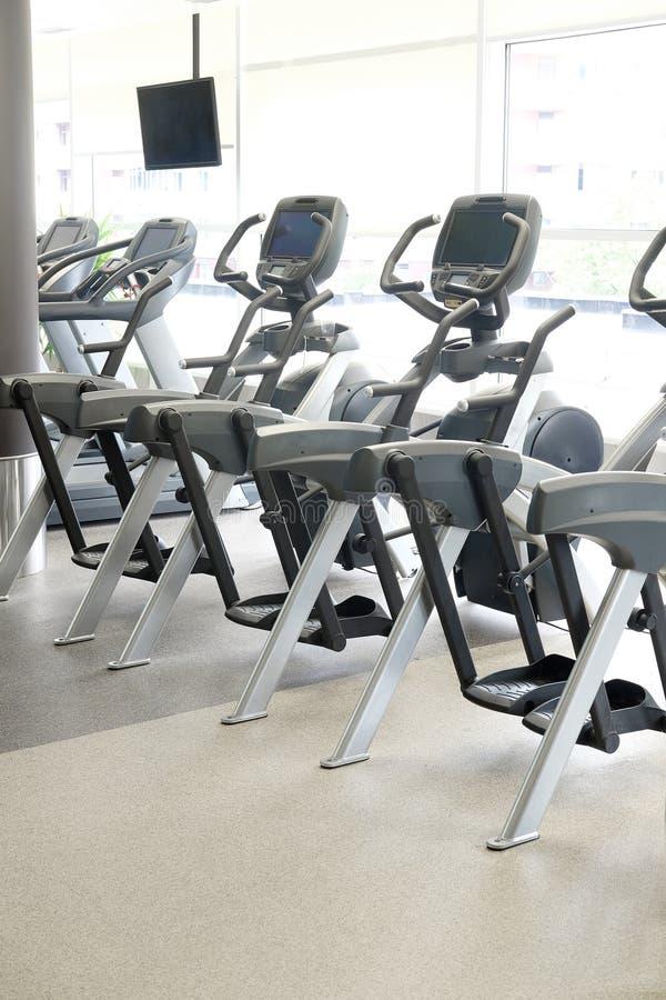 Modern fitness hall royalty free stock photo