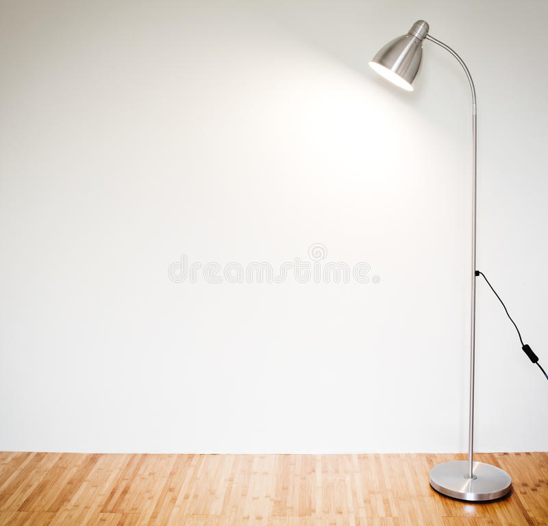 Download Modern floor lamp stock image. Image of wall, textured - 31603043