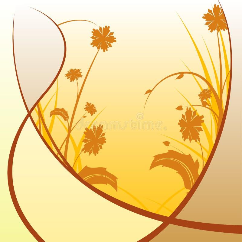 Download Modern Floral Abstraction stock vector. Illustration of grunge - 4988716