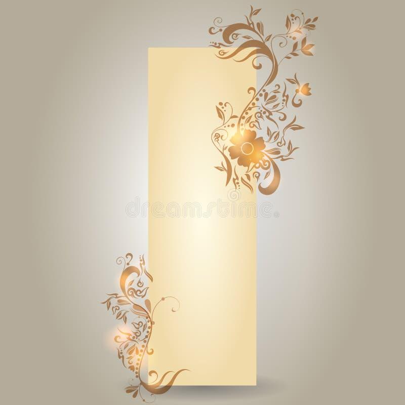 Download Modern Floral Vertical Banner Stock Vector - Image: 26660144