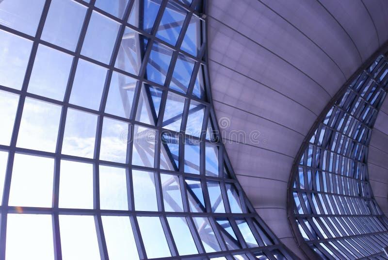 modern flygplats royaltyfria foton