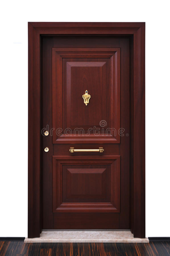 Free Modern Front Door Royalty Free Stock Photo - 23410645