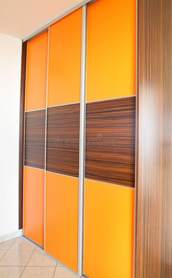 Modern furniture in the flat stock image