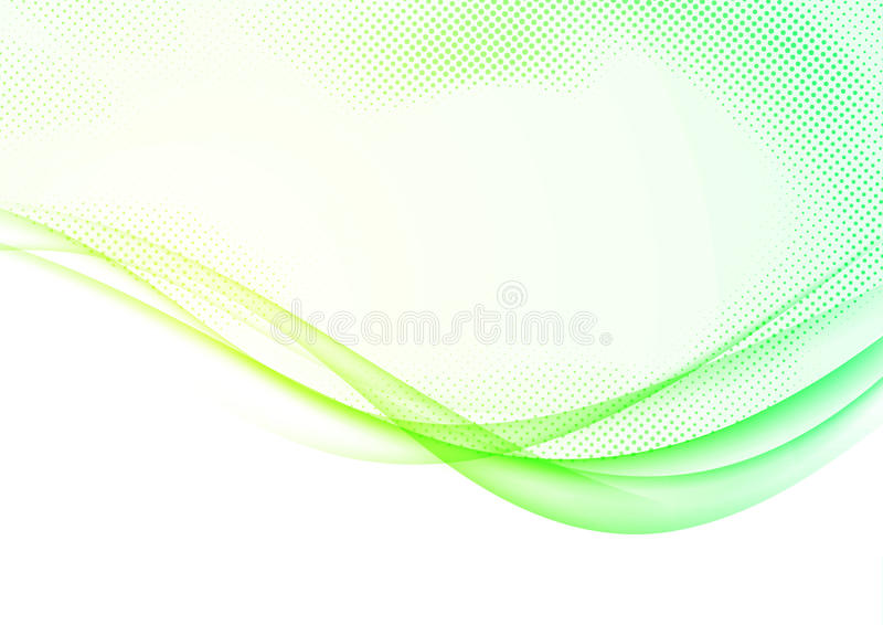 Modern futuristic soft spring swoosh wave lines border background layout. Bright yellow and green hi-tech gradient graphic design. Over white. Vector stock illustration