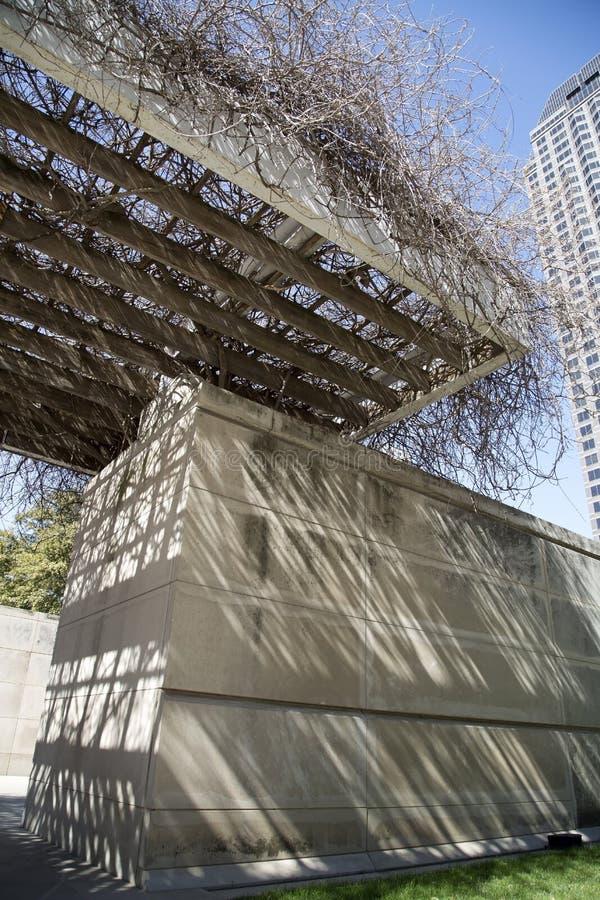 Modern gebouwenontwerp stock afbeeldingen