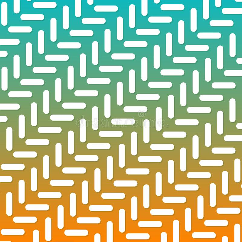 Modern Geometric Line Gradient Background. Abstract Pattern Eps10 Vector. stock illustration