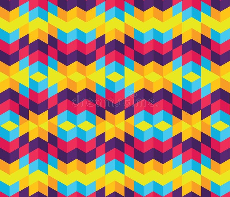 Modern-Geometric-Pattern-003 ilustración del vector