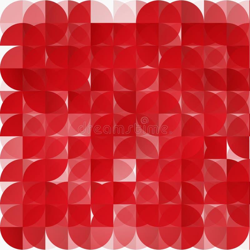 Modern geometrisk abstrakt bakgrund för vektor stock illustrationer