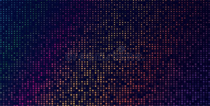 Modern geometrisk bakgrund för mörk mång- färgvektor abstrakt mall Geometrisk modell i fyrkantig stil med lutning vektor illustrationer