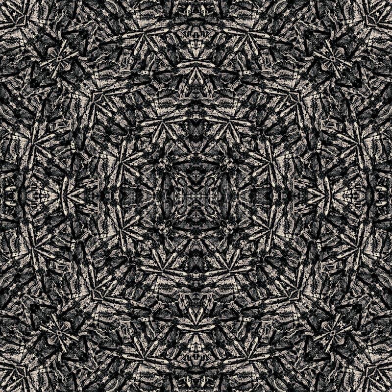 Modern geometrisk stam- modell vektor illustrationer