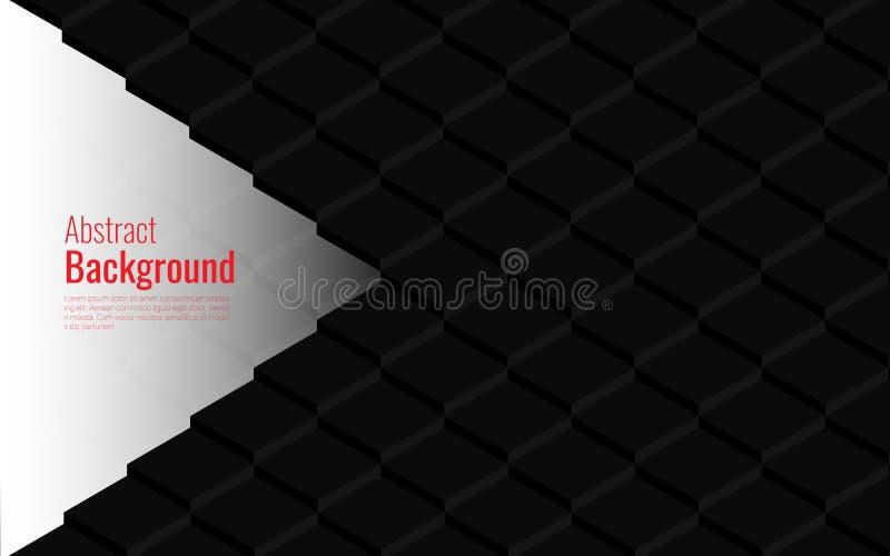 Modern geometrisk texturabstrakt begreppbakgrund för räkningsdesignen, bokdesignen, affischen, banret och den fyrkantiga ramen vektor illustrationer