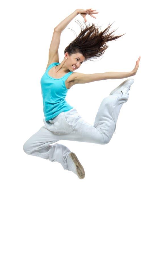 Download Modern Girl Jumping Dancing Stock Image - Image: 25069291