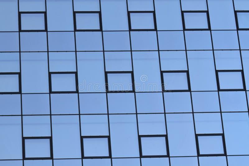 Modern Glas Facade Stock Photo
