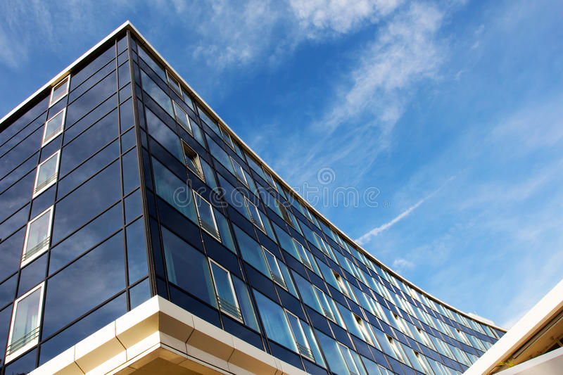 Download Modern Glass Architecture Against The Blue Sky Stock Images - Image: 34875534