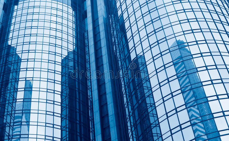 Modern Glass Building royalty free stock image