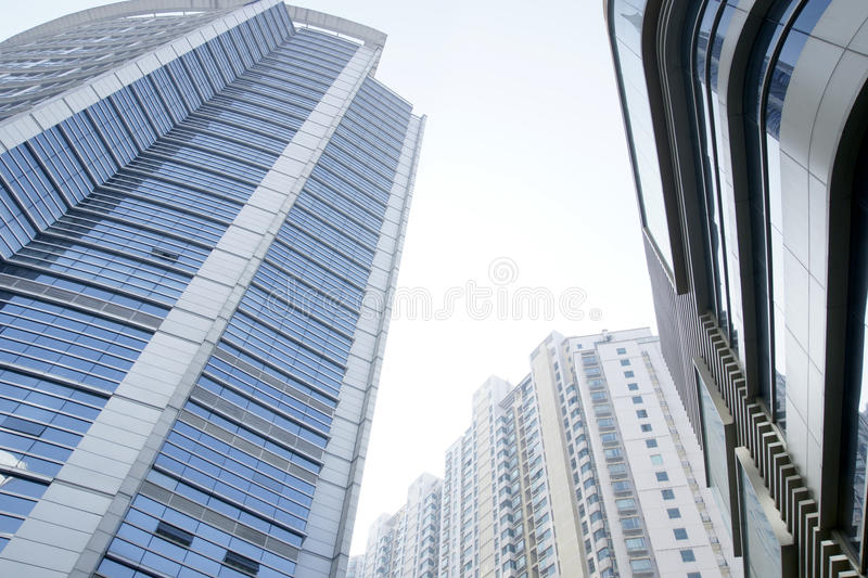 Download Modern glass building stock photo. Image of downtown - 17477636