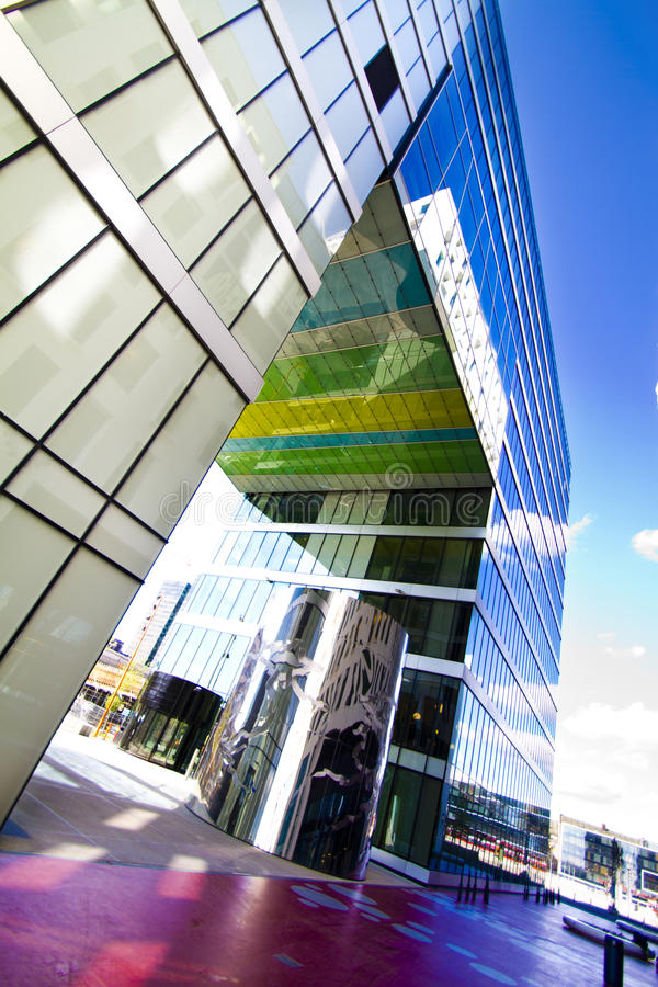 Download Modern glass building stock image. Image of build, foundation - 24885673