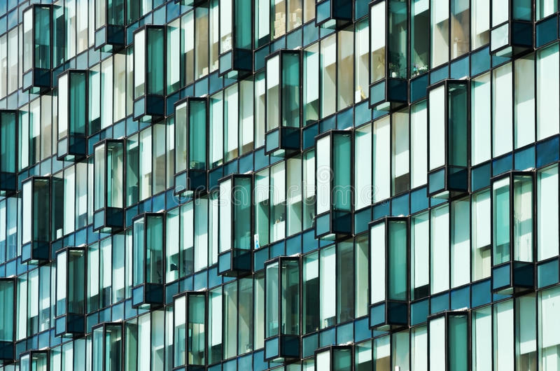 Download Modern glass facade stock photo. Image of styles, reflector - 25033342