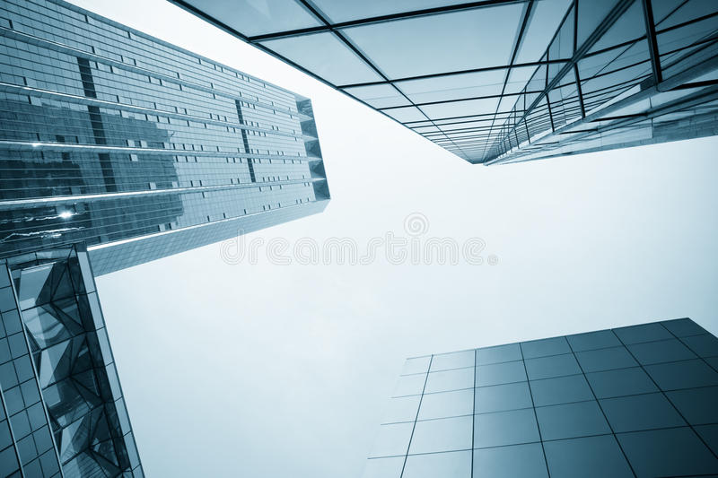 Modern glass office building royalty free stock photo