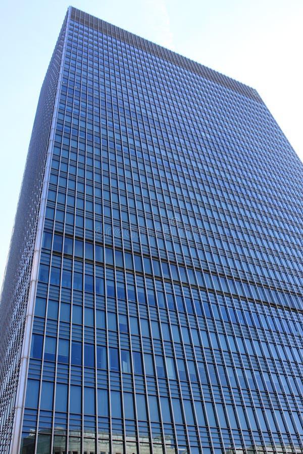 Modern glass skyscraper royalty free stock photography