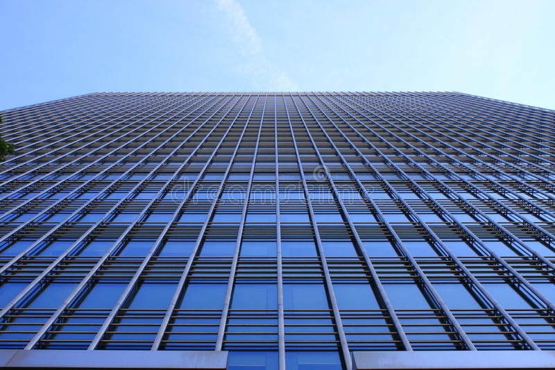 Modern glass skyscraper. A modern glass skyscraper in London (UK stock photography