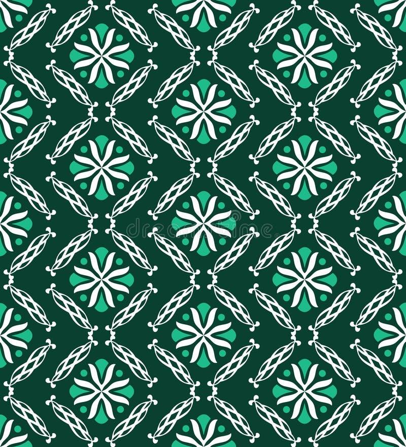 Modern Green Geometric Pattern Royalty Free Stock Images