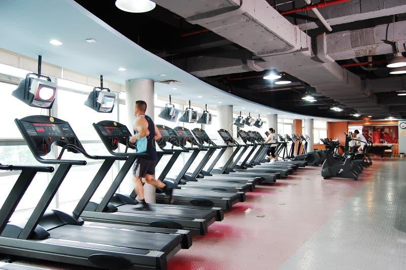 Modern gym royalty free stock image
