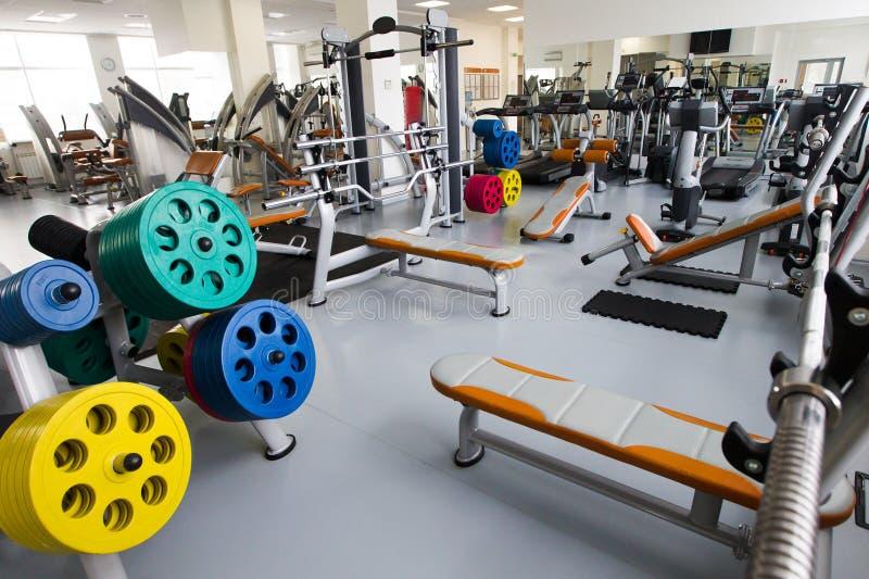 Modern gym stock image