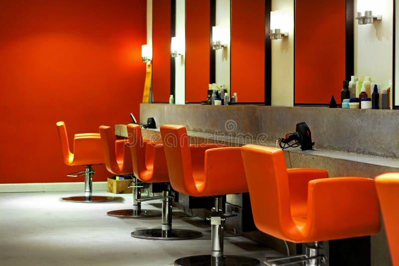 Modern hair salon royalty free stock image