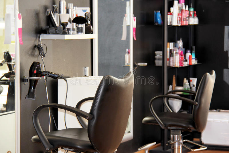 Download Modern hair salon stock image. Image of design, equipment - 31228859