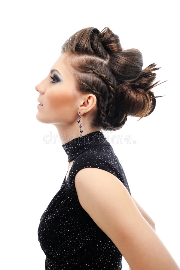 Download Modern hairstyle stock photo. Image of design, girl, fashion - 8889768