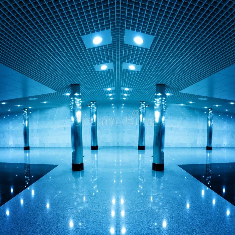 Modern hall inside office stock photo