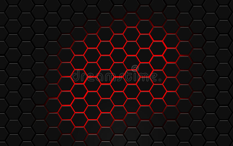 Download Modern Hexagon AbstractDesktop Wallpaper Stock Illustration