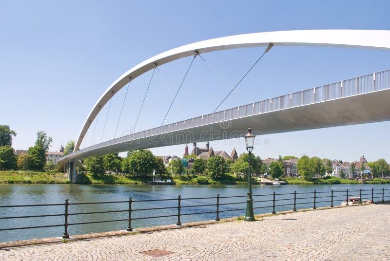Download Modern High Bridge In Maastricht Stock Photo - Image: 15062824